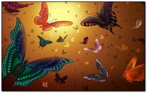 Fondo Textura Mariposa Color