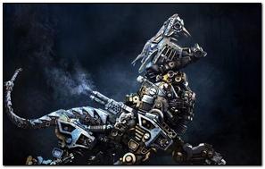 Cyborg Robot Animal Iron
