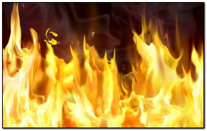 Fire Flame Background Lines