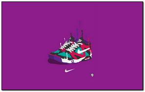 Thương hiệu thể thao nghệ thuật Nike Sneakers
