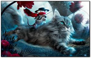 Cat Toy Flying