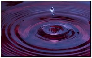 Agua Lila Púrpura