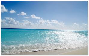 Sea Sand Sun Patches Of Light Beach