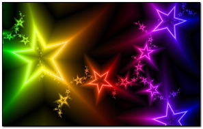 Stars Light Colorful