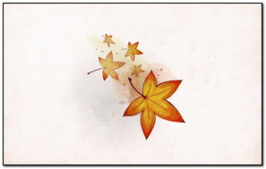 Autumn Leaves vector Painting