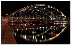 Night Bend Bridge