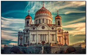 Cathedral Of Christ The Savior Russia Moscow