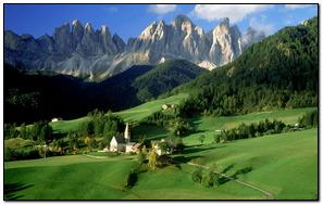 Village In The valley