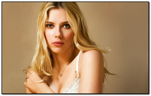 Scarlett Johansson Simple