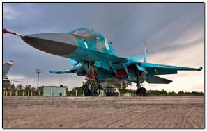 Sukhoi Su 34 Aircraft