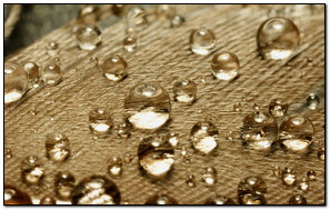 A Set Of Waterdrops