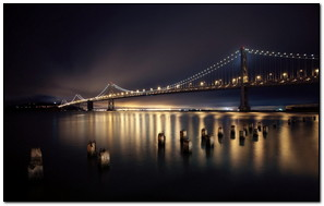 Night Bridges San Francisco
