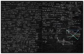Math Formula Bakground