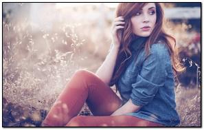 Model Girl Photography HD Wallpaper