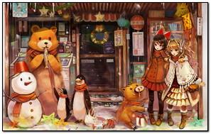 Anime Christmas In Japan