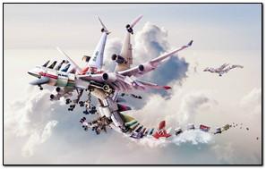 Plane Magnet