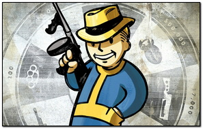 Fallout New vegas vault Boy
