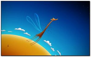 Flying Giraffe
