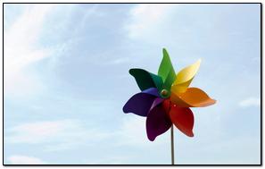 Rainbow Windmill
