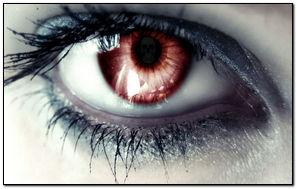 Skull In Eye