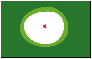 Apple Inside Circle