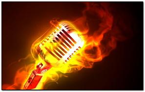 Micrófonos de fuego