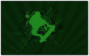 Skater Style Green
