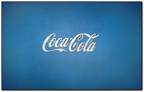 Coca Cola Blue
