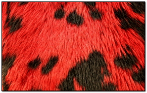Red Animal Skin