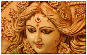 Awesome Statue Of Maa Durga