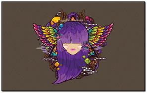 Simple Wings vector