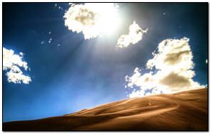 Sunny Desert view