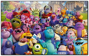 Monster Inc Family