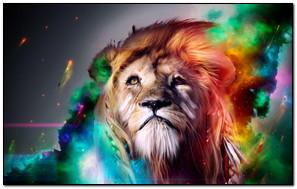 Lion 3D Graphic