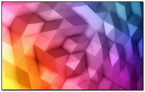 Gradient Rainbow Polygons