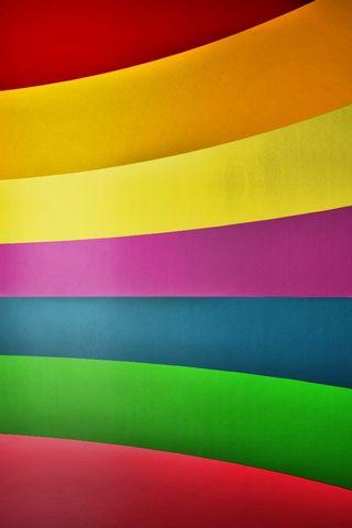 Arco iris colorido