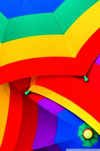Colourful Umbrella-