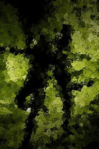 Зелений шаблон