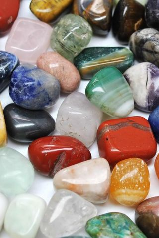 Colored River Stone