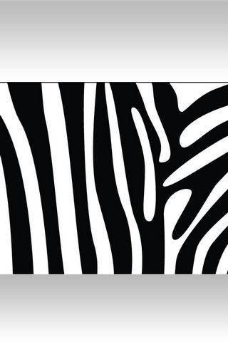 Zebra Print - Lock Screen IP4