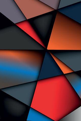 추상 삼각형