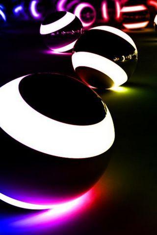 3D LIGHT BALLS