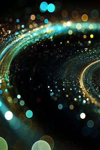 Glowing Spiral