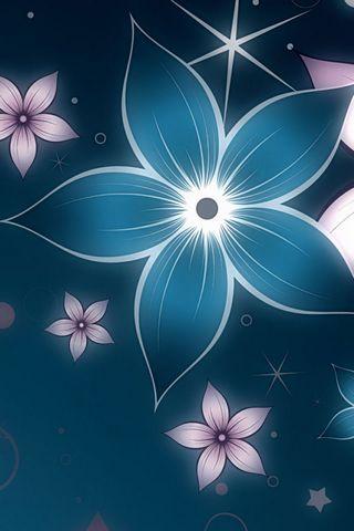 Świecące Kwiaty