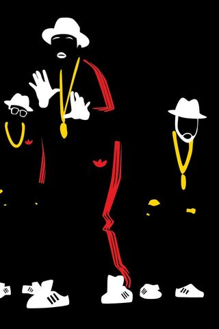 Run Dmc Simple Abstract