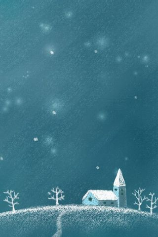 Night Snow Winter
