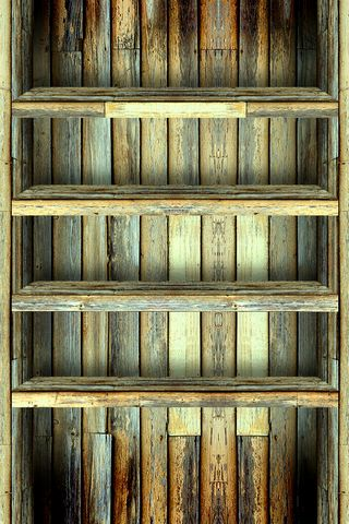 Półka na drewno