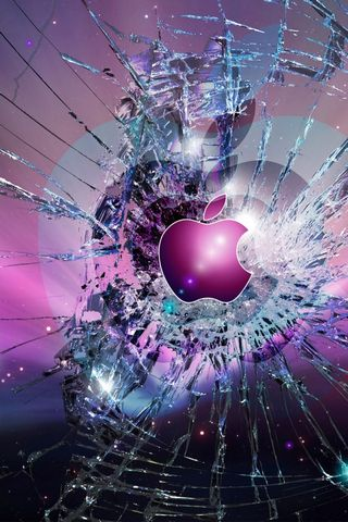 APPLE BROKEN GLASS