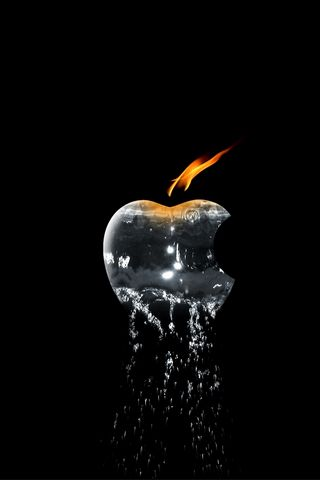 APPLE FIRE 과 물