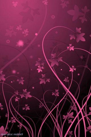 Hitam & merah jambu